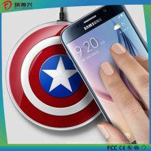 Беспроводной зарядки площадку Ци зарядное устройство для Samsung Мститель