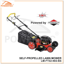 Powertec 3 in 1/B&S 500 Series Self-Propelled Lawn Mower (LM-PT02-46S-BS)