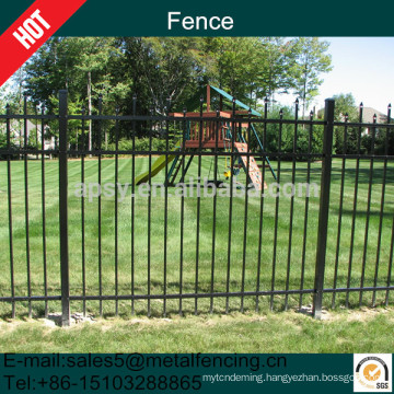 1.8m Steel tube Wrought Iron Fence for garden