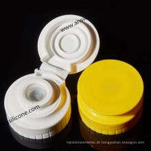 Válvula feita sob encomenda do silicone da maneira do produto comestível uma