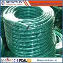 Manguera reforzada fibra de agua del jardín del PVC para la irrigación