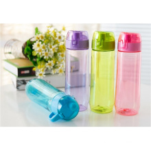 Eco-Friendly 600ML BPA free Water Bottle, Plastic Sports Bottle, Food grade plastic cycling water bottle