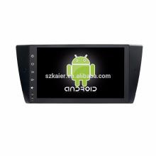 Núcleo Octa! Android 7.1 carro dvd para E90 com 9 polegada Tela Capacitiva / GPS / Link Espelho / DVR / TPMS / OBD2 / WIFI / 4G