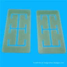 Fibra de vidro de usinagem CNC resina FR-4 folha