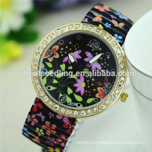 Grossiste vente en gros geneva watch flower