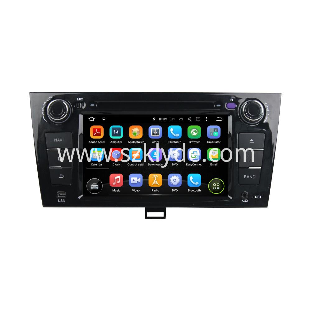 Quad Core Android 5.1 JAC J5 Navigation