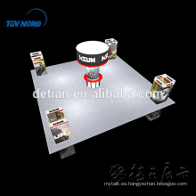 Car Trade Show Display Stand para Big Exhibition
