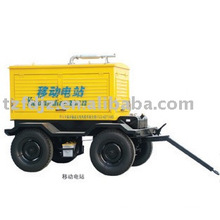 trailer type diesel gensets