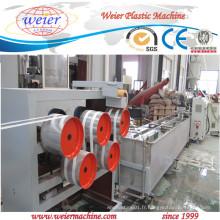 Ligne de production complète de bandes de cerclage PP PP 100kg / H
