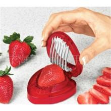 Küche Frucht Food Cutter Erdbeer-Schneidemaschine Dicer