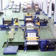 HR CR Spule Metall Schlitzlinie mit Recoiler