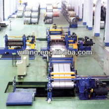 HR CR coil metal slitting line with recoiler