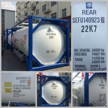 2015 New ISO Standard ASME Certification 20FT Tank Container