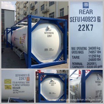 ISO Norm Asme Zertifizierung T75 Tankcontainer