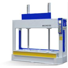Máquina de prensa fría de madera de placa artificial