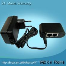 Chine fournisseur IEEE802.3af unique 15.4W poe injecteur 12v entrée