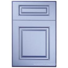Porte de placard de cuisine de PVC (HLPVC-19)