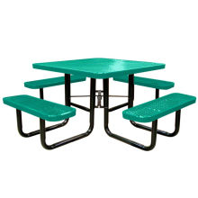 Carbon Steel Dining Table with 4 Seater