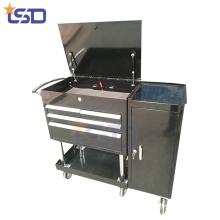 Stahl-Metall-Werkzeugkasten / Truhe mit 4 Schubladen
