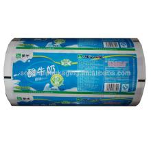 Película de Empaquetado de Leche Plástica / Yogur Personalizada