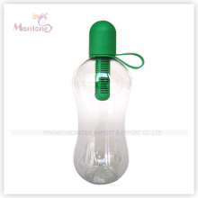 550 мл Спорт прозрачная бутылка для воды с фильтром