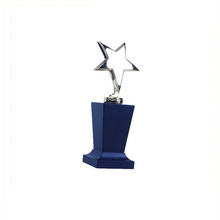 Love Theme Metal Trophy,Special Design Newborn Baby Souvenir Trophy