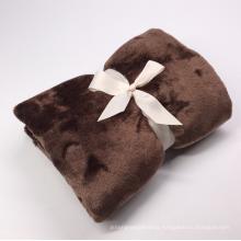 warm washable hotel fleece blanket polyester coral fleece