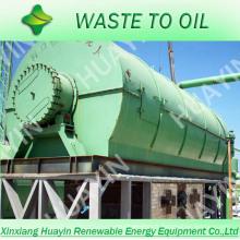 Usine de recyclage des pneus / caoutchouc usagés de 2014 à l'huile pour four à pétrole brut