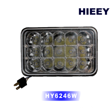 "4*6"" Super bright led headlight for truck offroad with high beam and low beam"