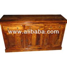 sheesham wood sideboard