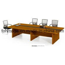 Mesa de conferencia moderna de la oficina de diseño para 12 personas (FOH-R3614)