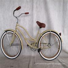 Factory Wholesale America Canada Style Steel Women Beach Cruiser Bikes