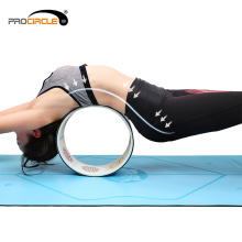 ProCircle Exercise Fitness yoga roda rosa para alongamento
