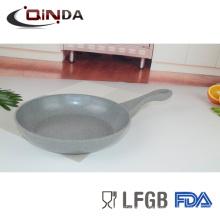 Aluminum alloy flying frying pan,12 pcs frying pan and flat non stick frying pan
