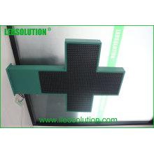 Croce eine LED / Croce LED Farmacie / Croci Parafarmacie Anzeige