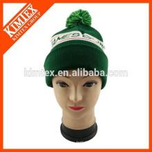Sombrero de la gorrita tejida del diseñador del jacquard de la manera con las letras