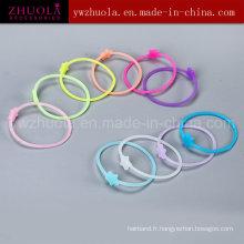 Bracelet en silicone en caoutchouc pour femmes