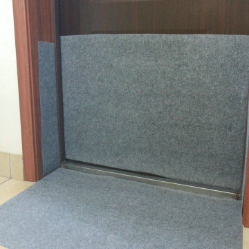 Bamboo Wood Flooring Protection Mats when Construction