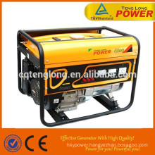 new design 3 phase 6.5kw dual fuel generator in hot sale