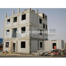 Produção de painel de parede parcial isolada