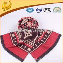 Wholesale Custom Manufacturer 100% Silk Promotional Scarf