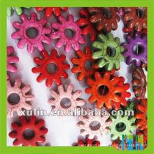 2012 persa turquesa flor joyería al por mayor LTQ016