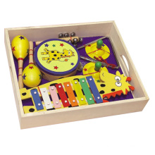 Wooden Musical Instrument Toys in a Box