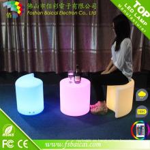 Asiento LED con barra de plástico