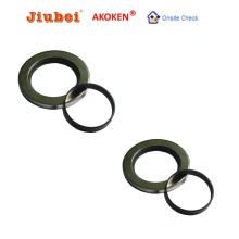 Double Lips Stainless Steel PTFE Oil Seal Air Compressor Part