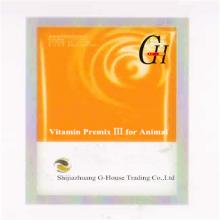 Vitamine prémélanger Ⅲ pour animaux