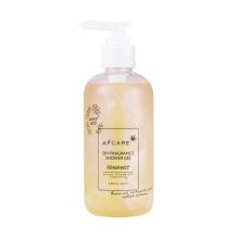 Jasmine Lavender Organic Yoni Shower Gel Moisturize and Whitening The Skin Pumping Shower Gel bottle