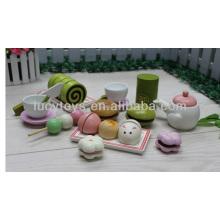 Holz-Nachmittags-Tee-Spiel-Set Spielzeug Tee-Set