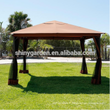 Tente de jardin de luxe gazebo en plein air avec moustiquaire