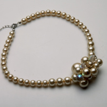 Chunky Fashion Pearl Collares
